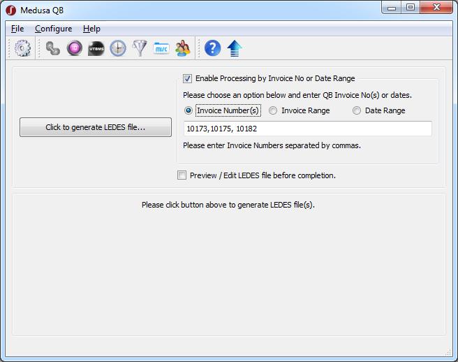 QuickBooks To LEDES Converter Software - Ledes invoice generator